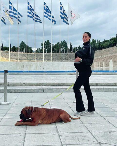 Ευαγγελία Συριοπούλου: Οι τελευταίες βόλτες λίγο πριν γίνει μητέρα